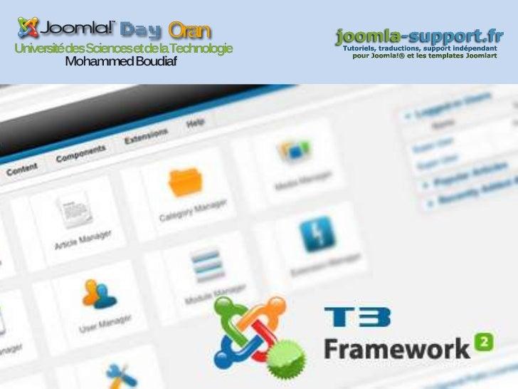 JA T3 Framework 2.0Un template gratuit 3ème génération pour Joomla 1.7