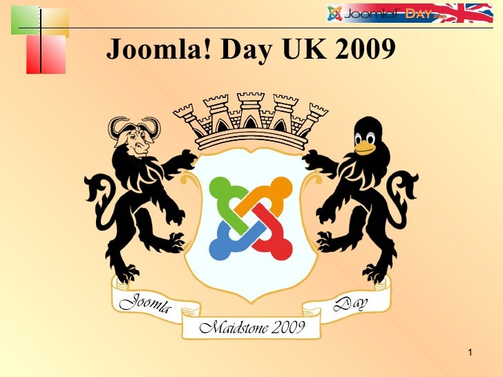 Joomla! Day UK 2009