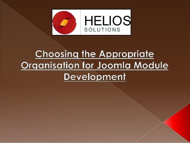 Joomla entwicklung