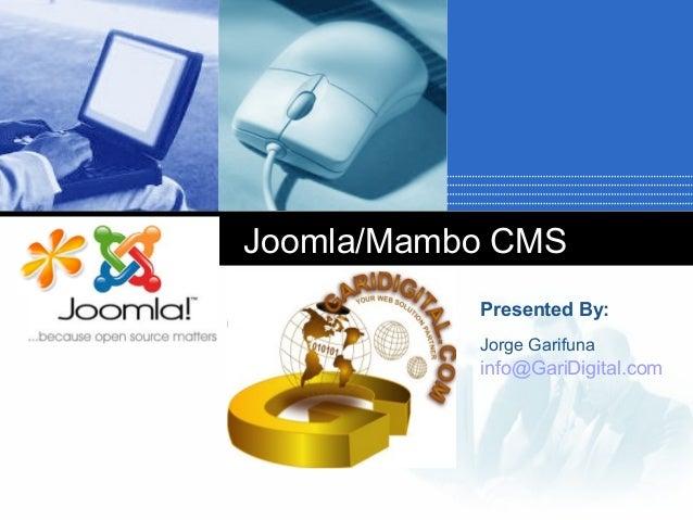 Joomla/Mambo CMS