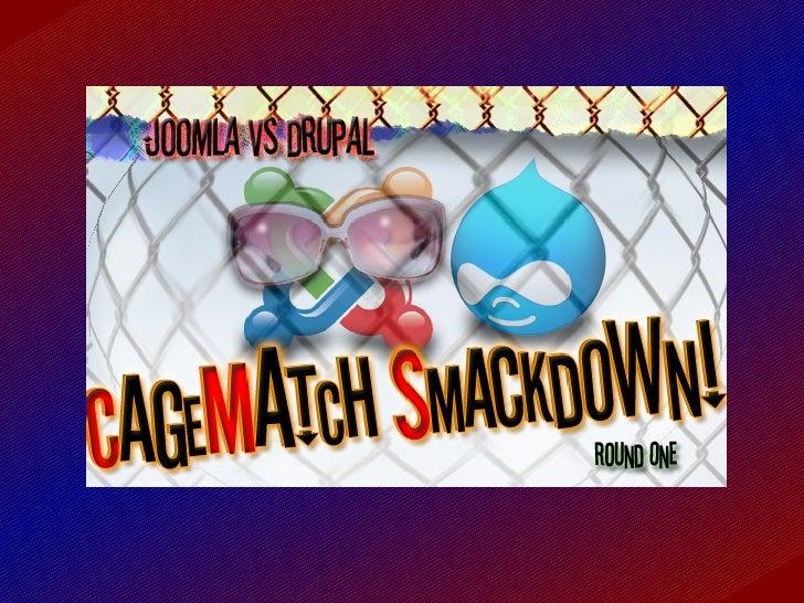 Joomla Vs Drupal Cms Cage Match