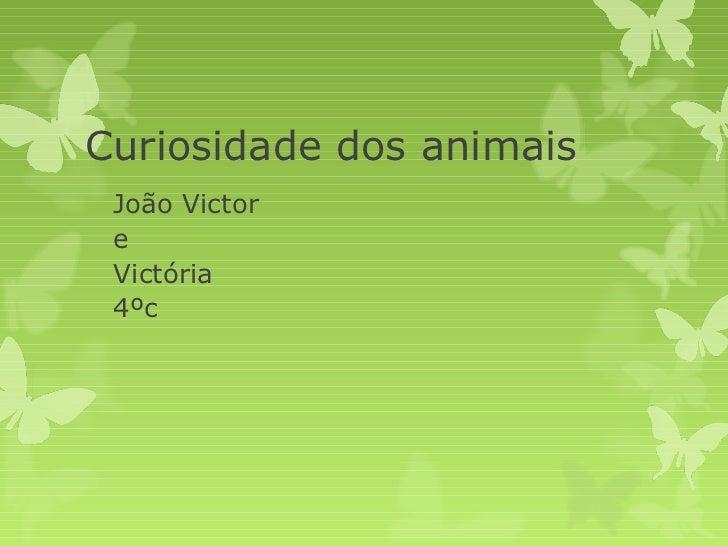 João victor e victória 4ºc