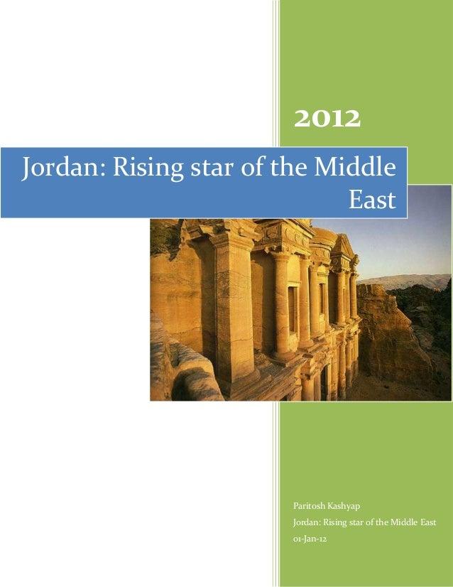 2012Jordan: Rising star of the Middle                             East                       Paritosh Kashyap             ...