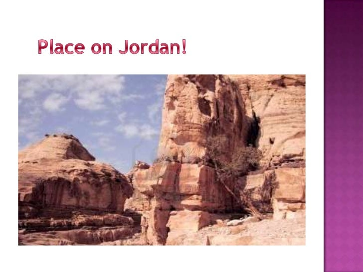 Jordan climate,ecosystems, and landforms