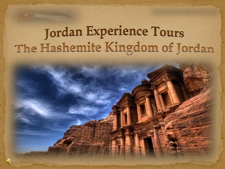 Jordan experience Tours  presentation
