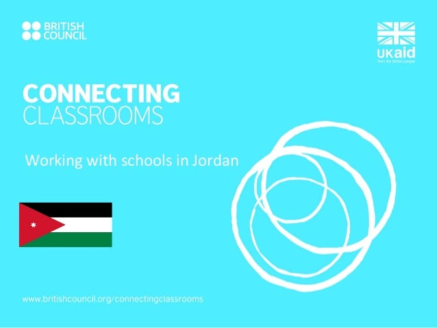 Working with schools in Jordan