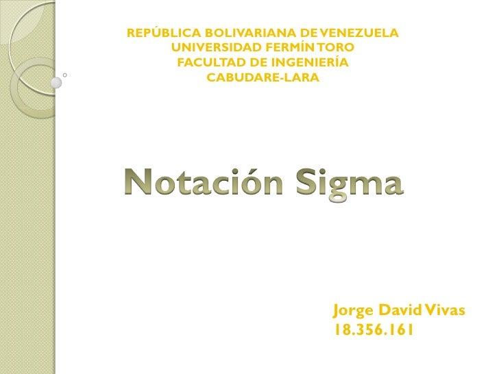 REPÚBLICA BOLIVARIANA DE VENEZUELA     UNIVERSIDAD FERMÍN TORO      FACULTAD DE INGENIERÍA          CABUDARE-LARA         ...