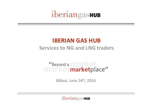 IBERIAN GAS HUBIBERIANGASHUB ServicestoNGandLNGtraders Bilbao,June24th,2014