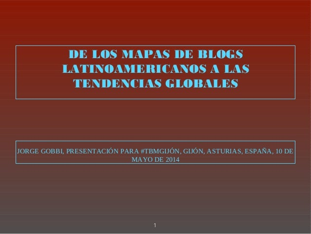Jorge gobbi presentación tbm