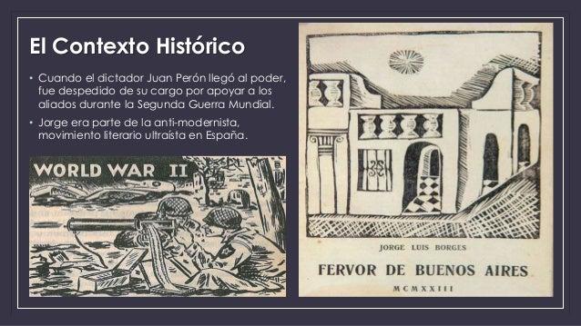 Jorge Luis Borges contexto historico