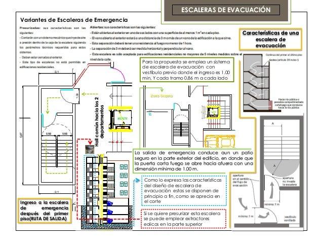 Entrega final curso tecnolog a 3 for Escaleras de emergencia