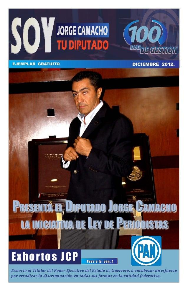 EJEMPLAR GRATUITO EJEMPLAR GRATUITO                                              DICIEMBRE 2012.                          ...