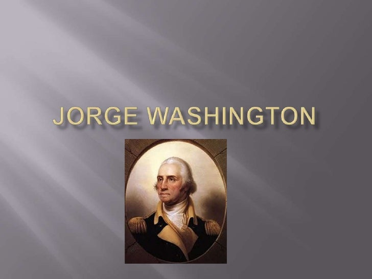 Jorge Washington<br />