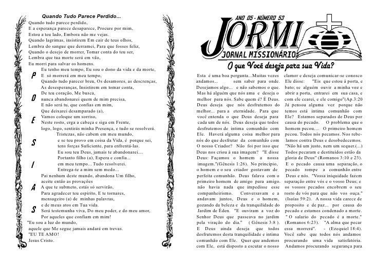Jormi - Jornal Missionário n° 53
