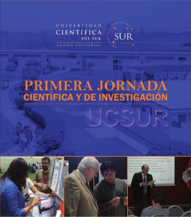 Jornada de Investigación - Universidad Científica del Sur