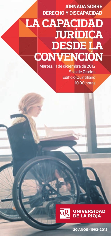 """Jornada sobre Derecho y Discapacidad """"La Capacidad Jurídica desde la Convención"""""""