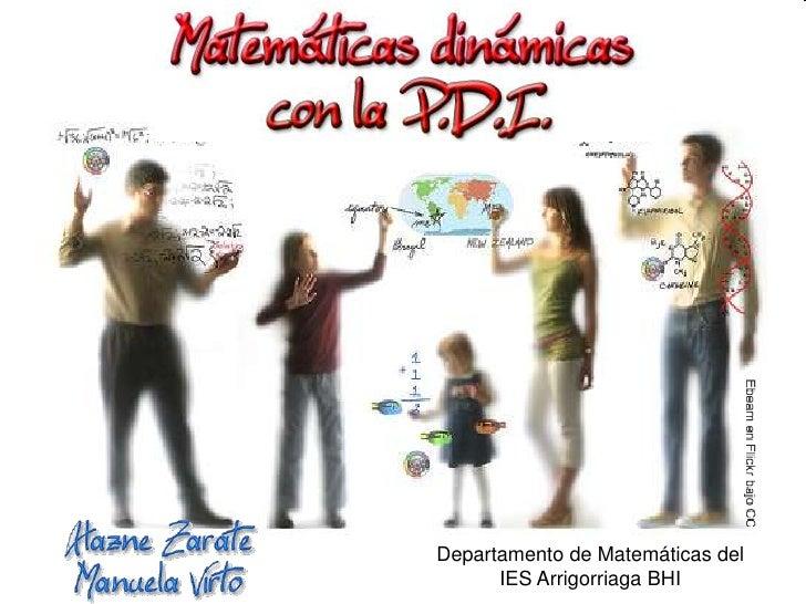 Departamento de Matemáticas del IES Arrigorriaga BHI