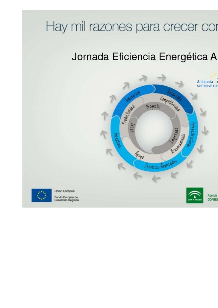 Jornadas Ahorro y Eficiencia Energética