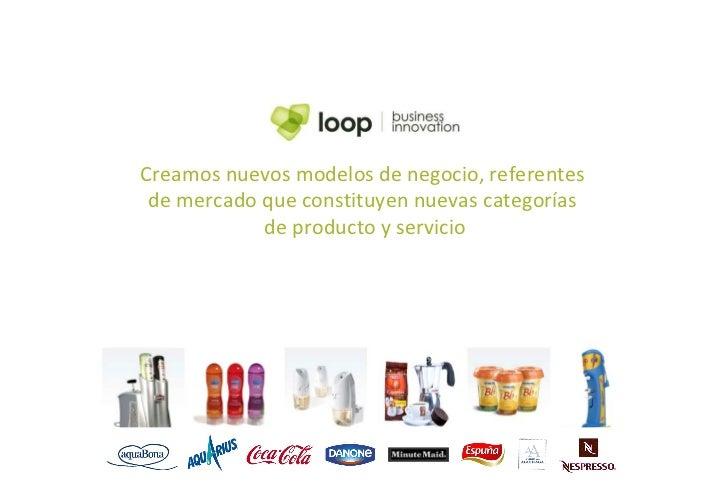 Creamos nuevos modelos de negocio, referentes  de mercado que constituyen nuevas categorías  de producto y servicio