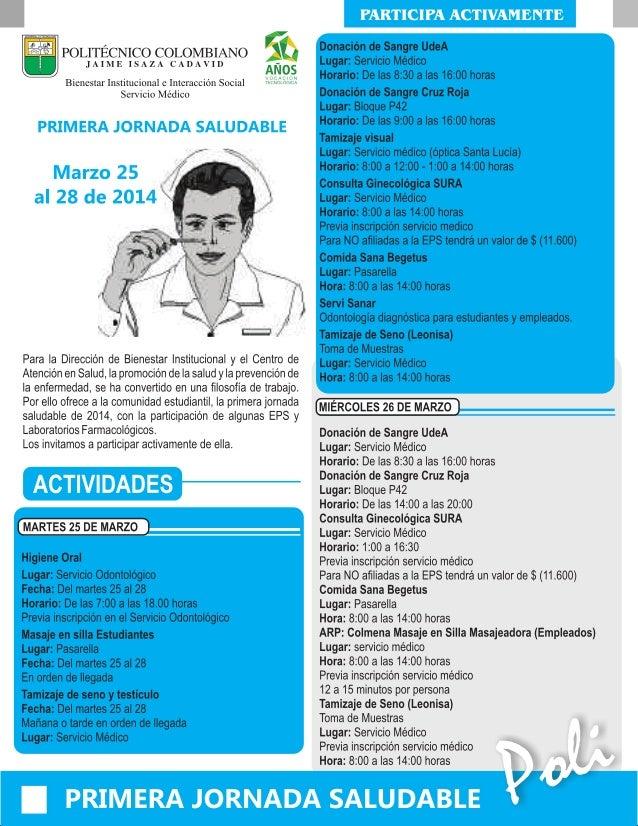 Jornada Saludable 2014