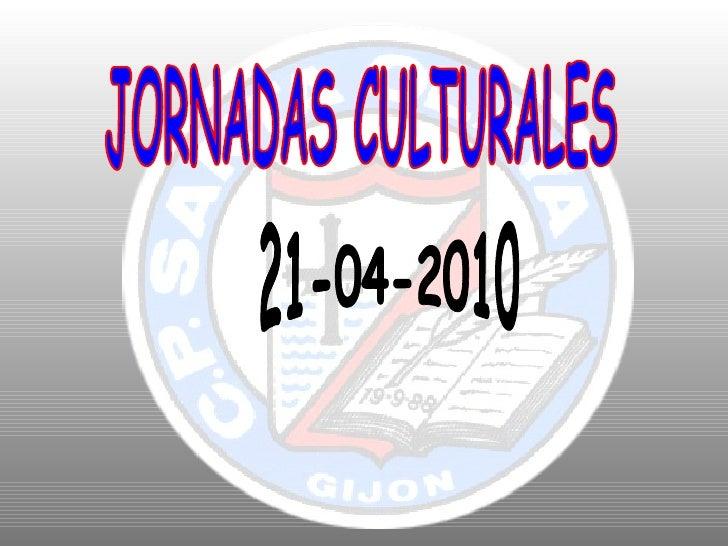 Jornadas culturales 21 04-10