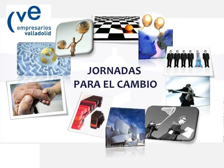 JORNADAS PARA EL CAMBIO