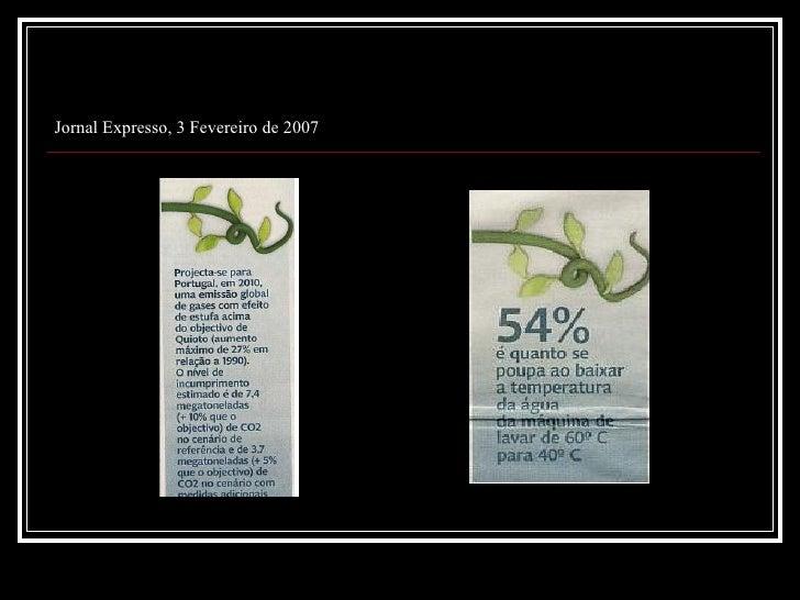 Jornal Expresso, 3 de Fevereiro de 2007