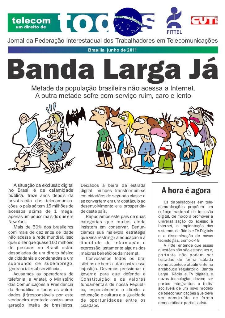 Jornal banda larga maio 2011