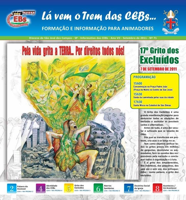 Jornal das CEBs - Diocese de São José dos Campos - SP