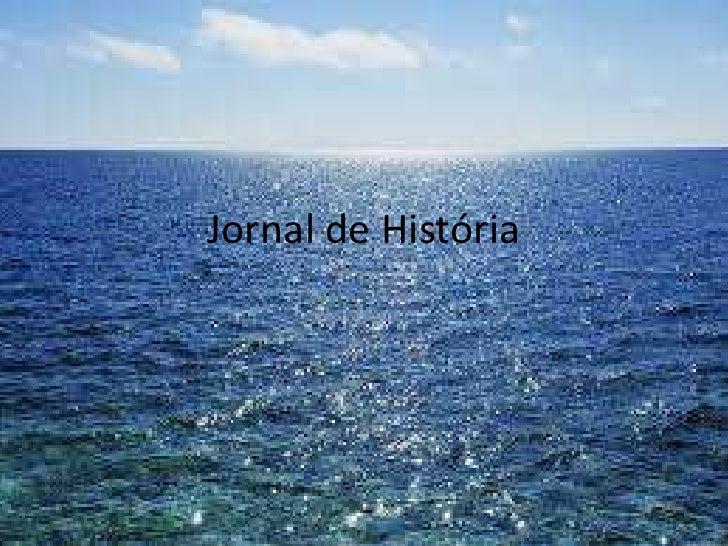 Jornal de História
