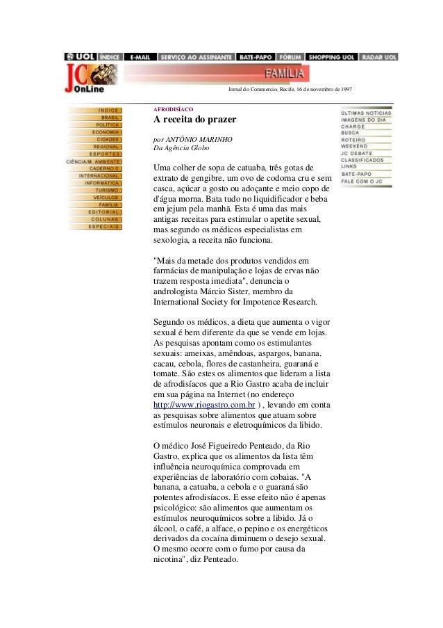 .......................................................................... Jornal do Commercio, Recife, 16 de novembro de ...