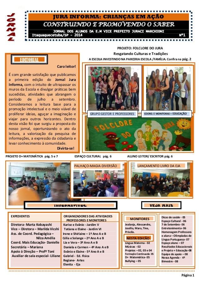 PPG  eler.K  PROJETO: FOLCLORE DO JURA  Resgatando Culturas e Tradições  A ESCOLA INVESTINDO NA PARCERIA ESCOLA /FAMÍLIA. ...