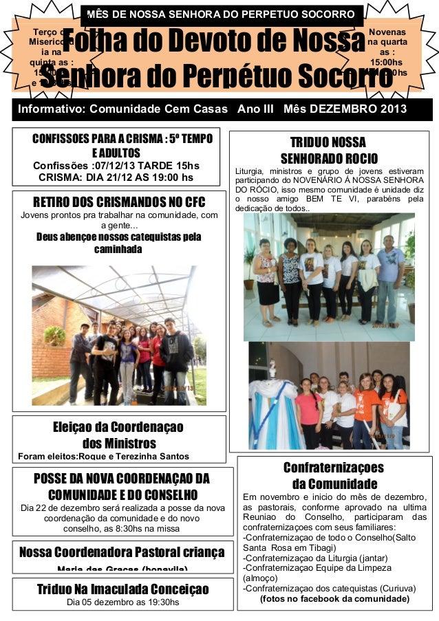 Jornal do mes de dezembro 2013