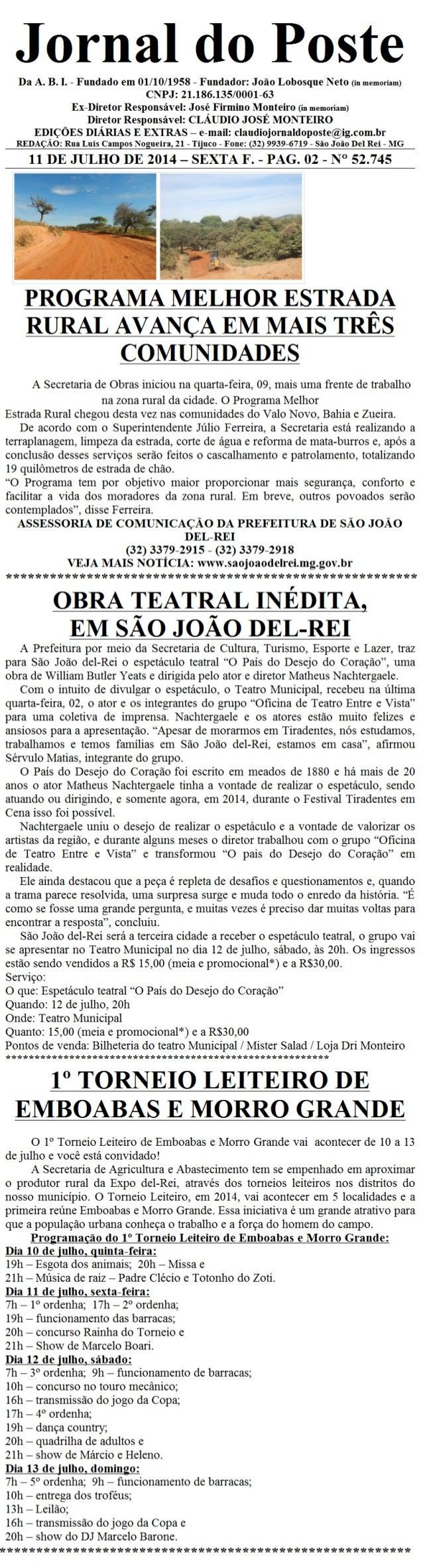 Jornal do poste 22 b 2