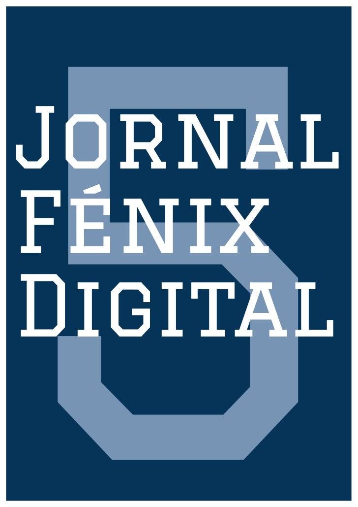 Jornal Fénix Digital nº 5