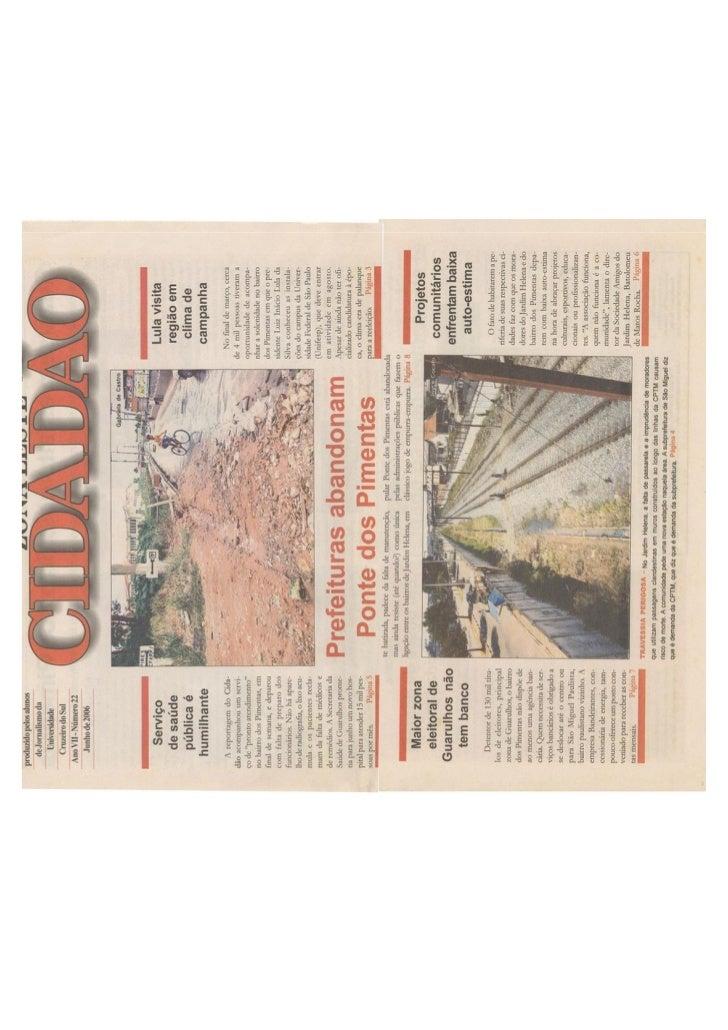Jornal junho de 2006 n 22