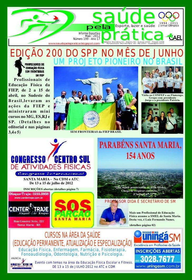 pela                                                           saúde                Esporte, lazer e saúde                ...