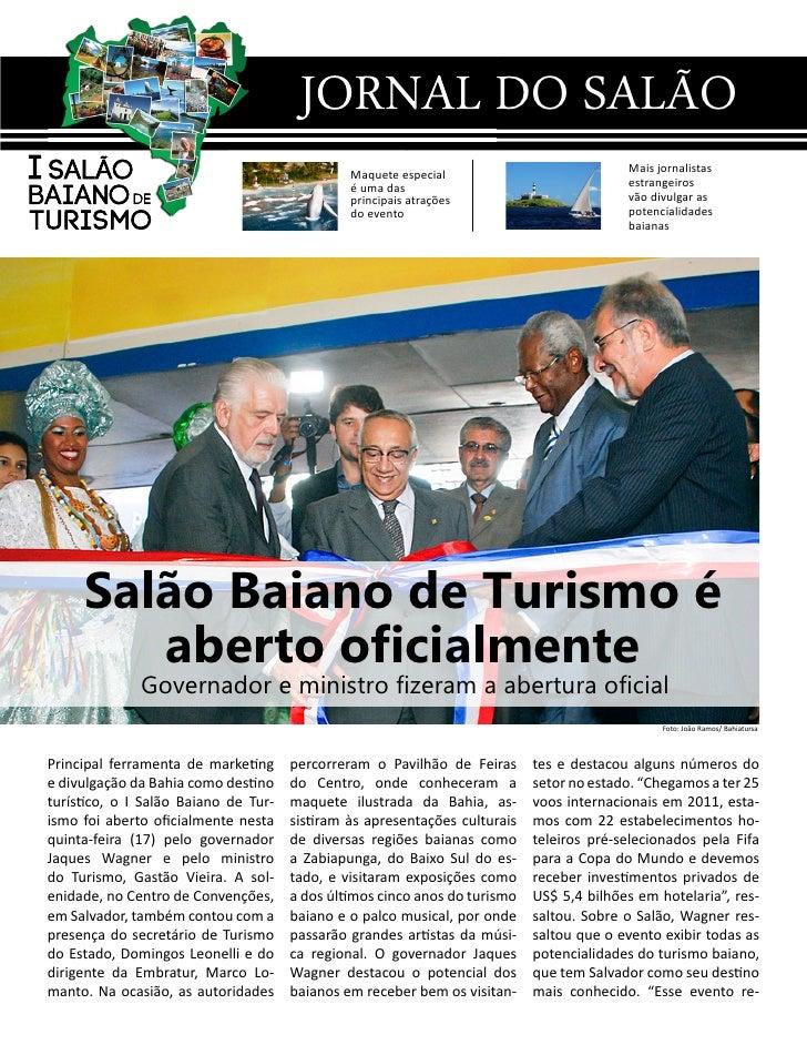 Jornal I Salão Baiano de Turismo n° 01