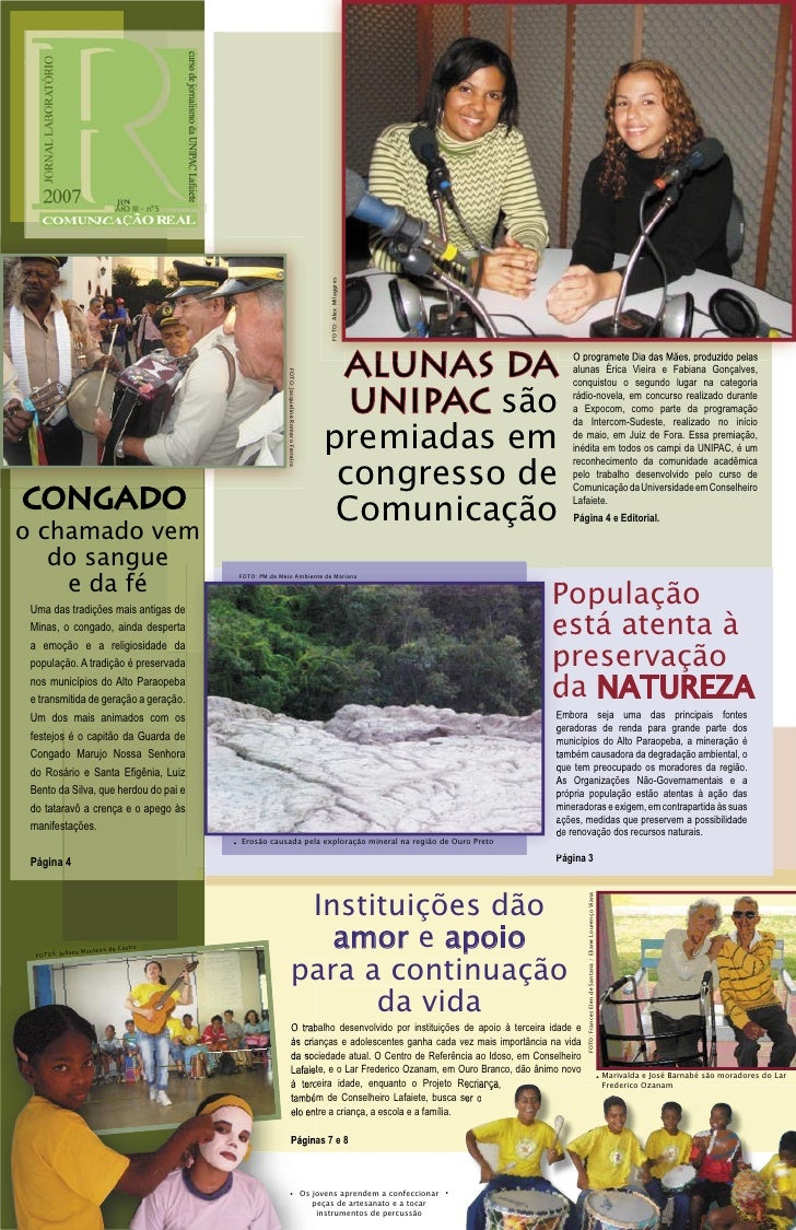 Jornal Laboratório Comunicaçao Real