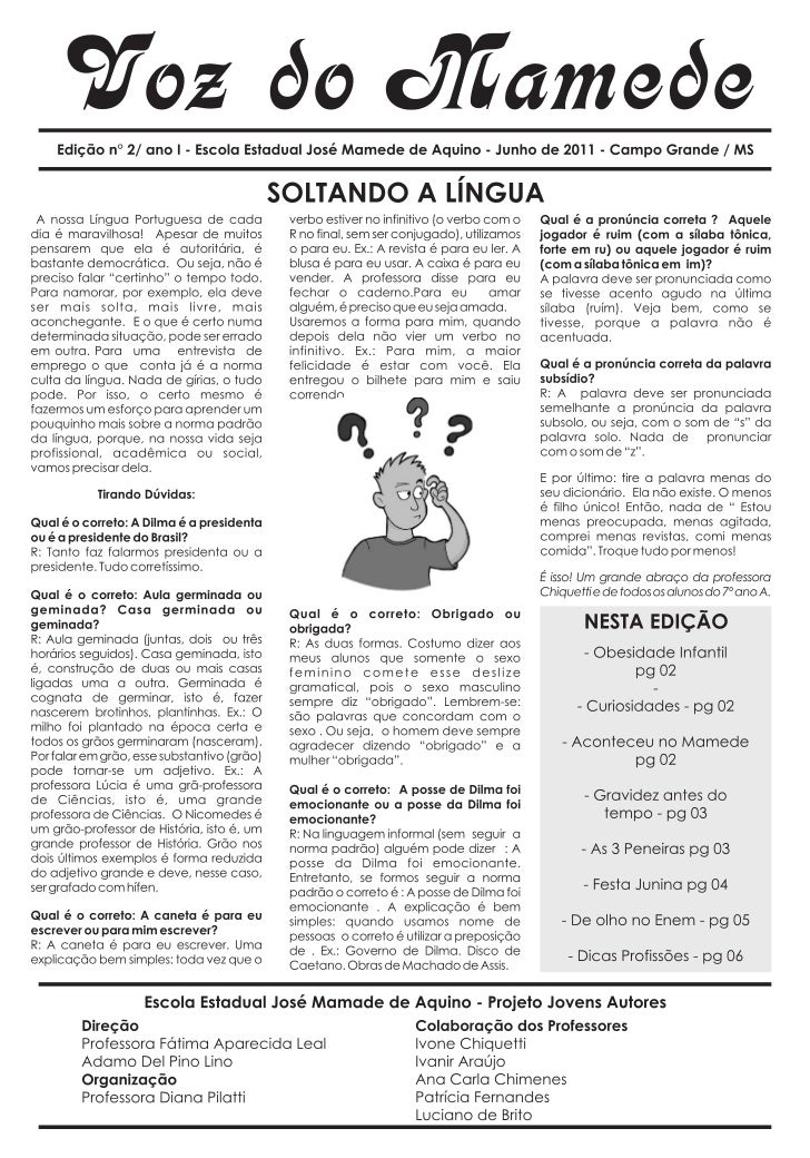 Jornal Voz do Mamede