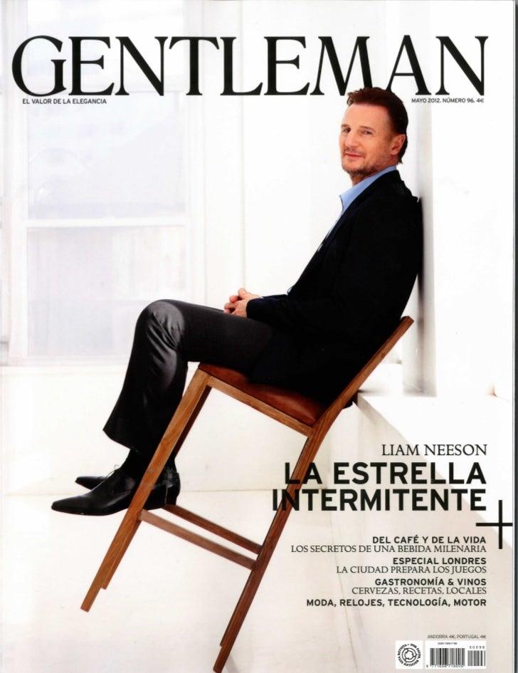 La revista Gentleman entrevista a José Antonio Llorente
