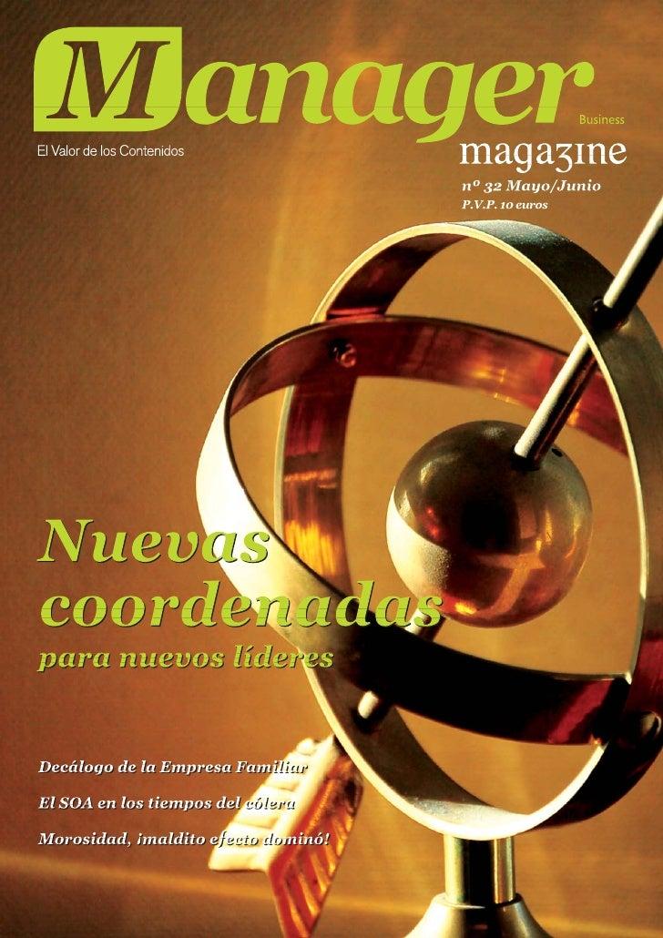 José Cantero artículo revista de marketing manager sobre marketing experiencial