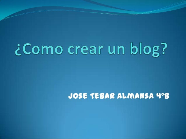 Jose Tebar Almansa 4ºB