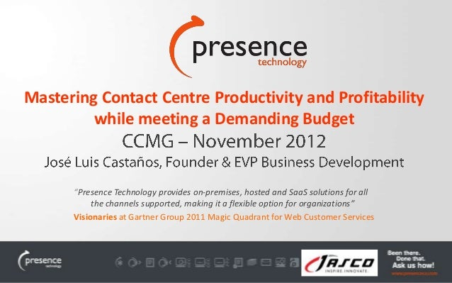 Mastering Contact Centre Productivity and Profitability