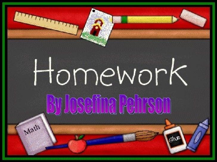 Josefina Homework 3