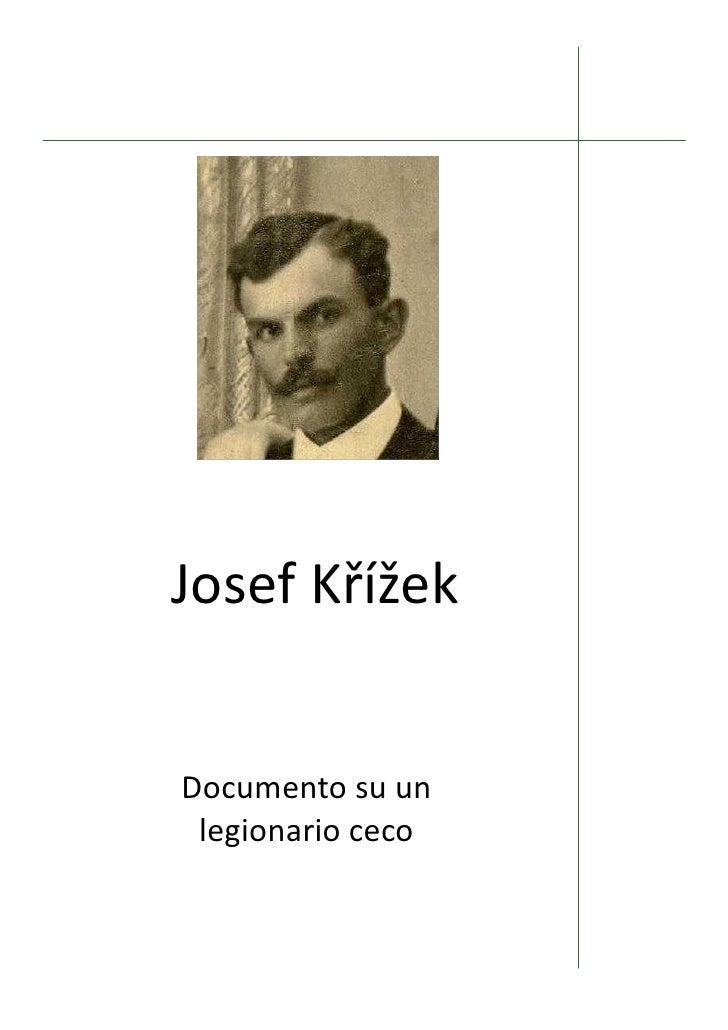 Josef Krizek It