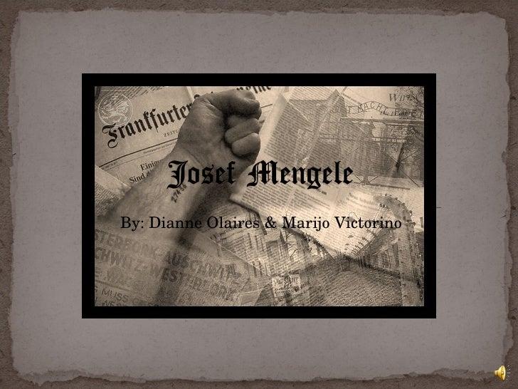 Josef Mengele Final