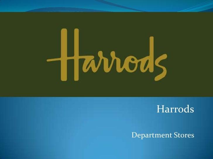HarrodsDepartment Stores