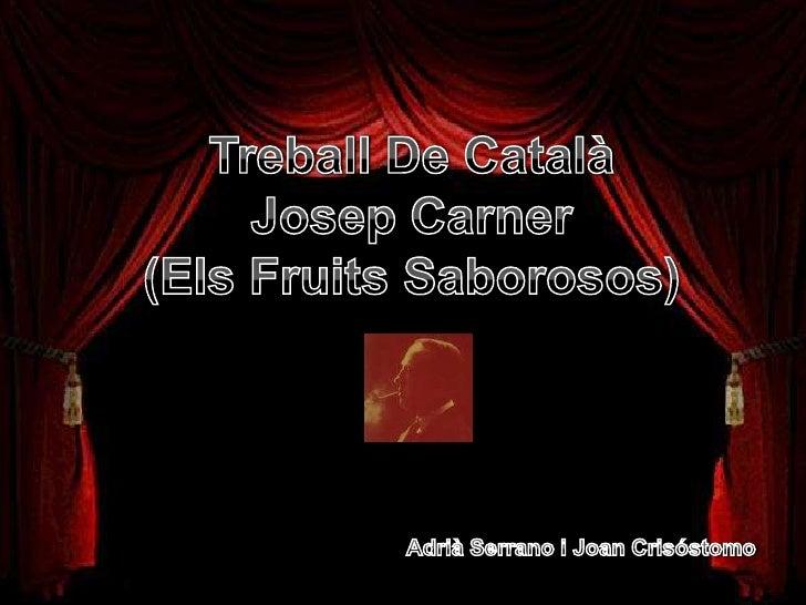 Exercici 1.  Busca informació sobre els fruits saborosos i explica el contingut del               llibre. Els fruits sabor...