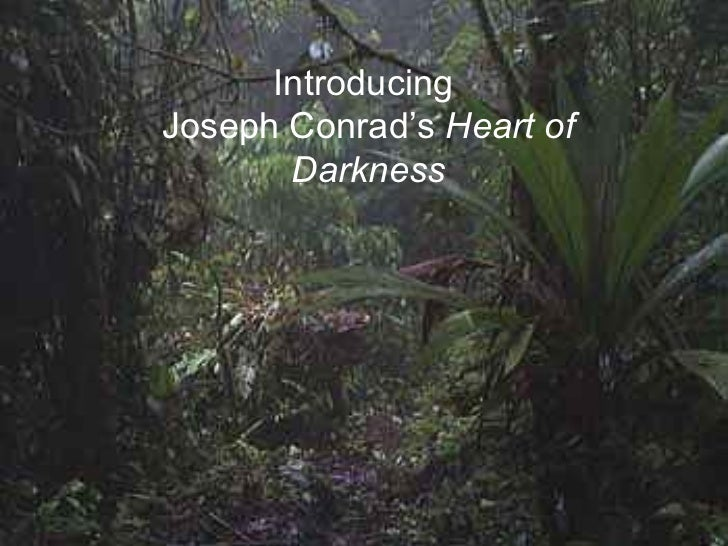 the essence of light contrasting with darkness in heart of darkness by joseph conrad Heart of darkness presentation  related interests joseph conrad heart of darkness kurtz (heart  marlow and kurtz contrasting images (dark and light and.